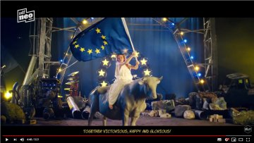 "German comedian Jan Böhmermann releases video tribute to ""United States of Europe"""
